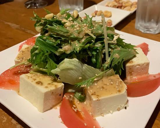 tofu salad sanpotei