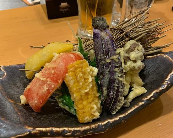 vegan tempura izakaya