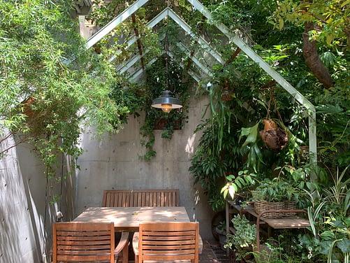 vegan outdoor seating tokyo