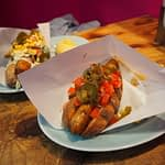 cheap vegan tokyo hot dog
